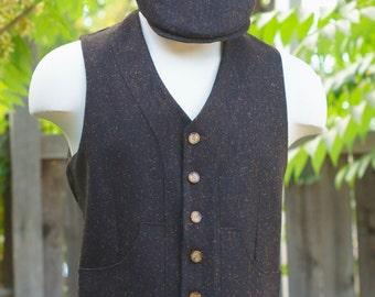 Irish Tweed Vests and Caps