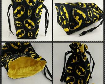 Batman Lined Dice Bag