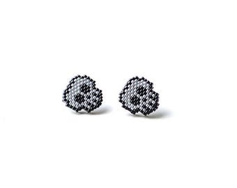 Halloween Costume Jewelry Day of the Dead Skull Jewelry Skull Earrings Skulls Stud Earrings Gift for Teen Halloween Party Dia de los Muertos