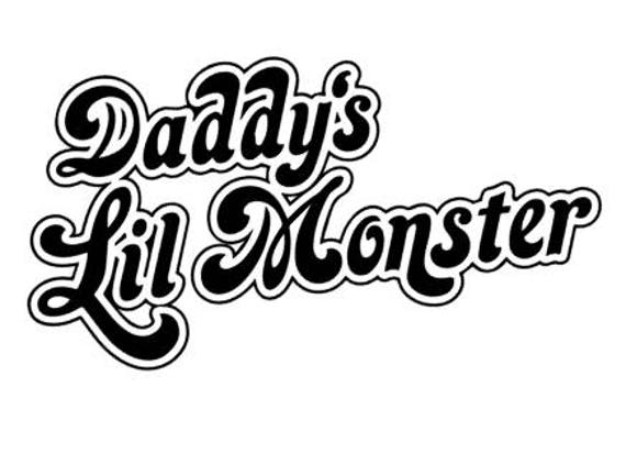 Daddys lil monster diy iron on fathers day do it like this item solutioingenieria Image collections