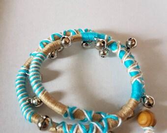 Bohemian bracelet with bells
