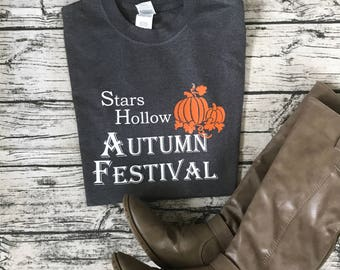 Gilmore Girls Autumn Festival Tee Shirt