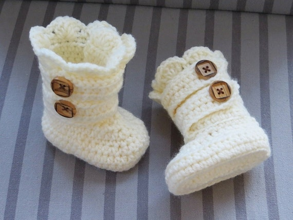 Crochet Boots Pattern Crochet Booties Pattern Baby Booties Pattern