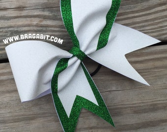 Glitter bow. You choose 2 colors.