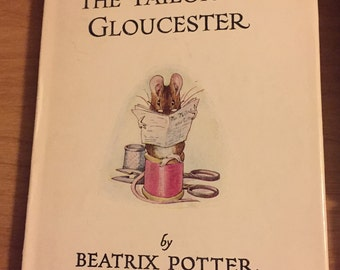 C1950's Edition Tailor of Gloucester by Beatrix Potter w/ DJ