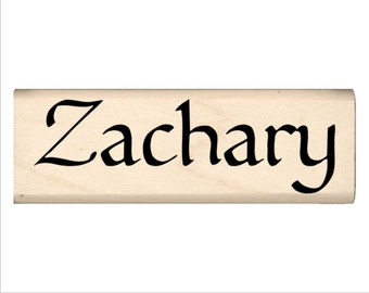 Zachary - Name Rubber Stamp for Kids