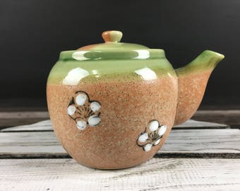 studio pottery vintage teapot / kyusu