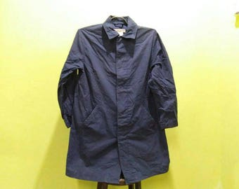Vintage Katharine Hamnett London Zipper Jacket / Trench Coat