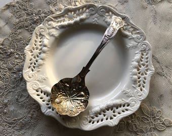 Vintage silver plated EPNS Sheffield fruit spoon