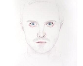 Jesse Pinkman Limited Edition Watercolour Print