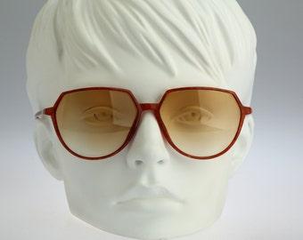 Silhouette M 1753 C 1820, Vintage round sunglasses, 90s rare and unique / NOS