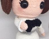 Princess Leia crochet pat...