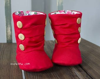 618 Nico Baby Boots PDF Sewing Pattern