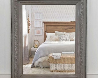 Gray Antique Mirror