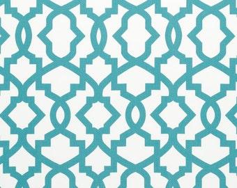 1/2 yard Coastal Blue Sheffield   - Home Decor Fabric  - Duck Cloth - Premier Prints  - fabric by the yard