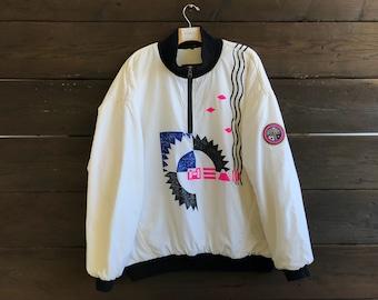 Vintage 90s Head Sportswear Windbreaker