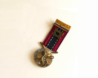 Steampunk Medal - Steamstress (1st Class)