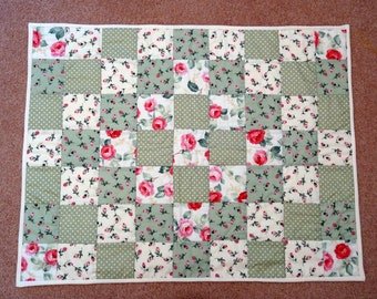 Little Patchwork Baby Quilt