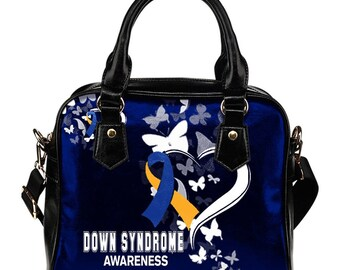 Down Syndrome Awareness Shoulder Bag / Handbag
