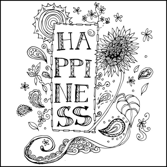 12 Scribble Cards Meditative Coloring Pages for Adults/