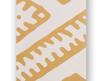 Kilim Gold Wallpaper Sample