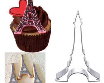 Eiffel Tower Cookie Cutter Bread Biscuit Cake Mold Mould baking bake