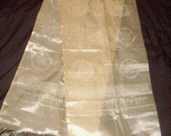 KHATA Tibetan scarf Bliss Buddha lotus meditation offering Tibetan lama ref khata2