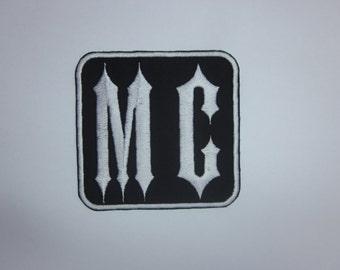 MC Iron on Patch