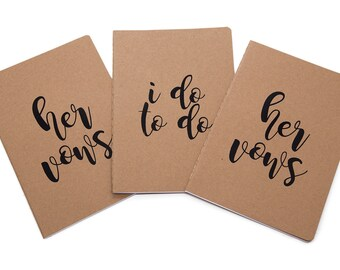 Hers and Hers Vow Notebook, I Do To Do Notebook, Wedding Planning, Gay Friendly, Lesbian Engagement Gift, Gay Wedding Planner