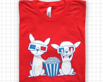 Chihuahuas In 3D ADULT T-shirt