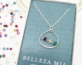 Grandma Birthstone Necklace - Grandmother Gift - Necklace for Grandma - Grandma Jewelry - Personalized Grandma Gift - Gift for Nana