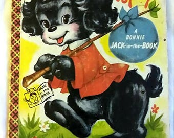 Popsy A Bonnie Jack in the Book 1953 children's Book Samuel Lowe company