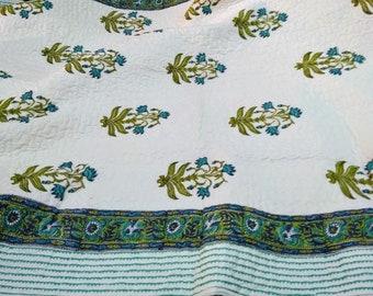 Quilt Cotton Blanket-Full Size