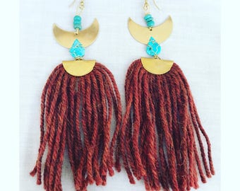 Fringe earrings SALE