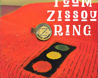 Life Aquatic Team Zissou Society Junior Member Ring