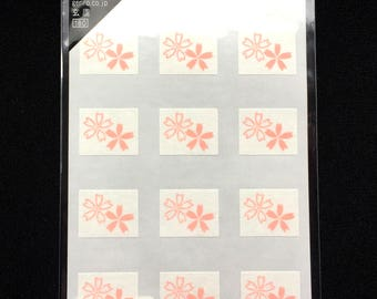 Cherry Blossom Stickers - Japanese Washi Paper Stickers  -  (S210)