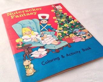 Christmas Coloring Book- Vintage Christmas Coloring Book