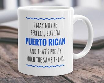 Puerto Rico Mug Puerto Rican Gift Puerto Rico Pride Puerto Rico Gifts Puerto Rico Puerto Rican Mug Puerto Rico Cup Puerto Rican Cup