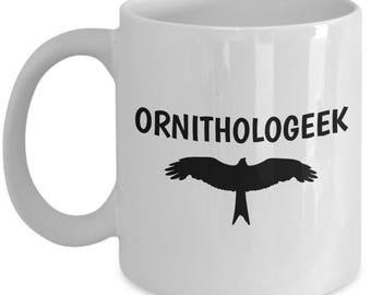 Funny Birdwatching Mug - Birding Gift Idea - Present For Birder - Funny Ornithologist Gift - Ornithologeek