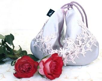 Pink Wedding Clutch, Bridesmaid wedding wristlet, Bridal Wedding Clutch, Bridesmaid Gift Wedding