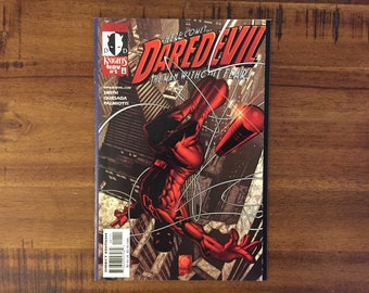 1998 Daredevil #1 Comic Book / Marvel Comics / NM-VF / Kevin Smith / Series 2 / Matt Murdock / Foggy Nelson / Man Without Fear / Knights