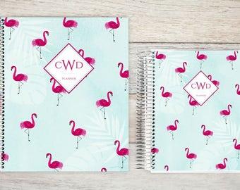 Planner | 2018 Planner | Weekly Planner | Hourly Planner | Custom Planner | Personal Planner | Life Planner | Planners | tropical flamingo