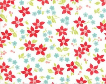 United Notions - Moda-Bonnie and Camille- Vintage Holiday-55167 18- CT122144-100% Quality Cotton by the Yard or Yardage