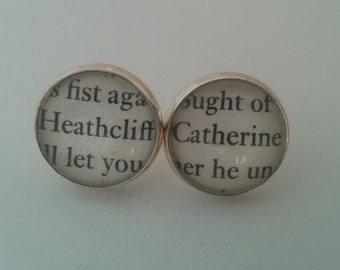 Wuthering Heights Heathcliff and Catherine Earrings