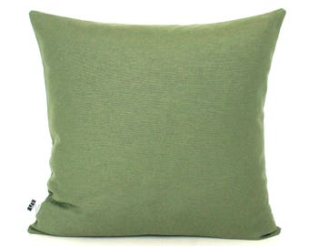 olive green pillows. Green Pillow Cover Solid Cushion - Olive Pillows Dark R