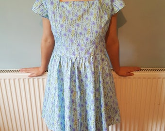 Summer dress, Mini dress, Casual dress, Dress, Party dress, Beach dress, Fit and flare dress, Hawaiian dress, Birthday gift, Gift for her