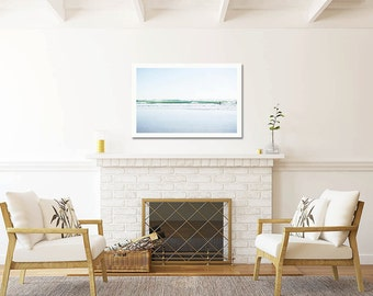Oversized Art, Large Ocean Print , Large Beach Print, Minimalist, Large Wall Art, Extra Large Art, Ocean Waves,  California Coast