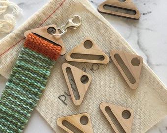 Wood Bracelet Findings - Package of 6