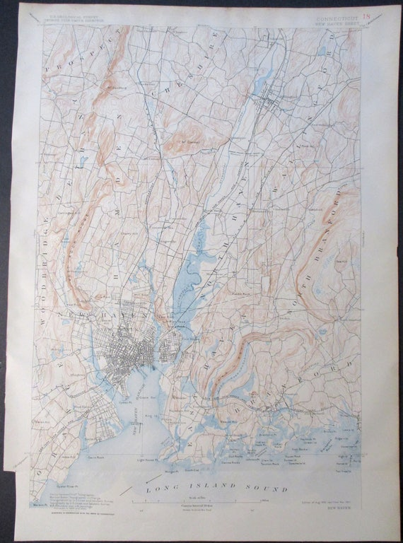 1907 New Haven Branford Hamden Orange East Haven Long