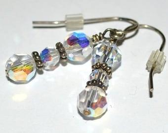 Clear Shimmering Swarovski Crystals - On Sale 60% OFF